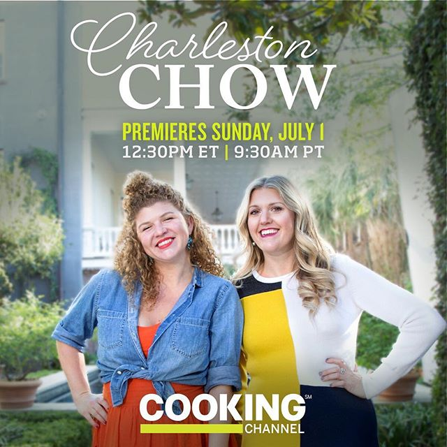Sunday can't come soon enough! @nikkifairman @sarah.p.adams #charlestonchow @cookingchannel