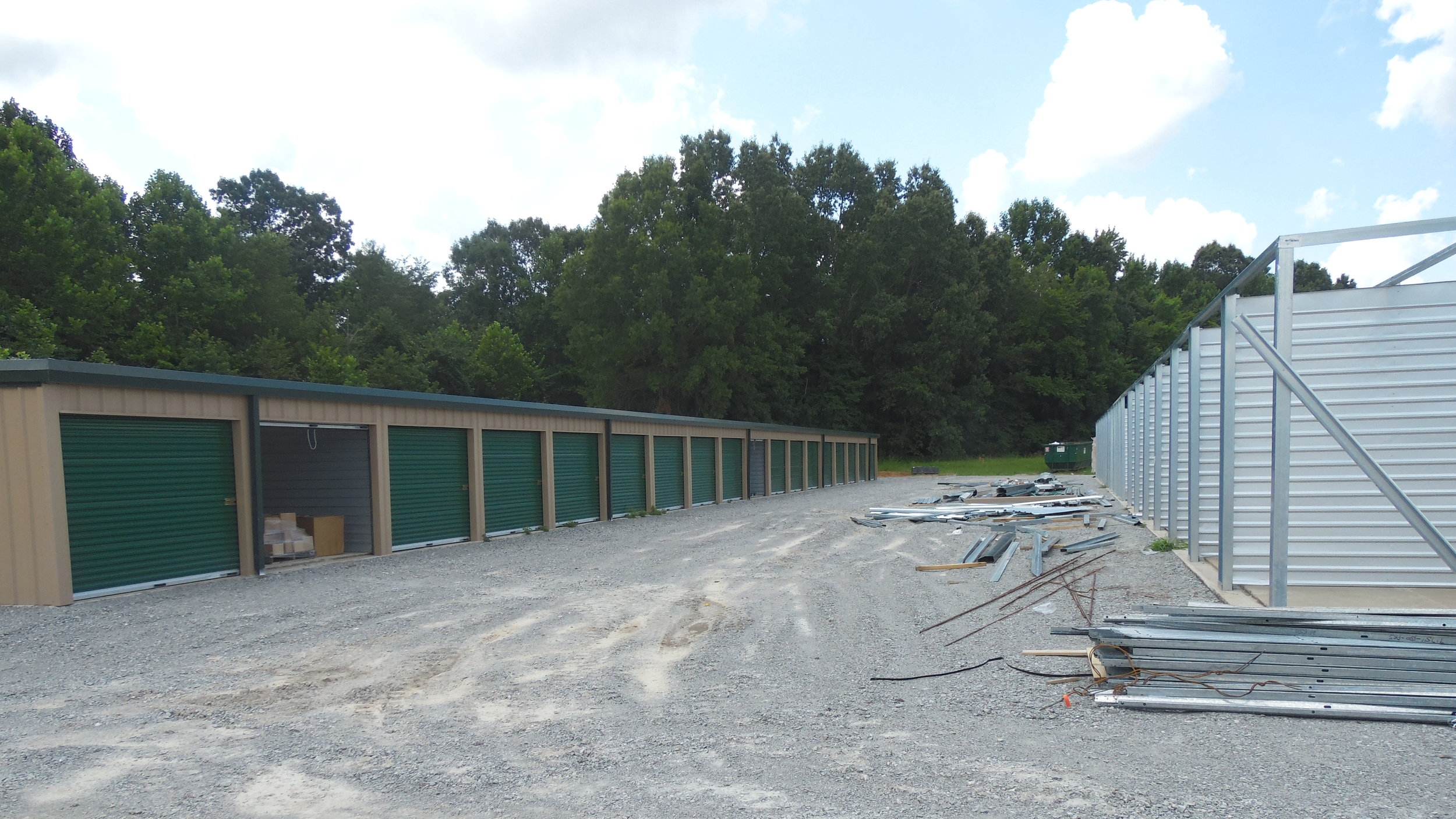 New Completed Dry Storage Building