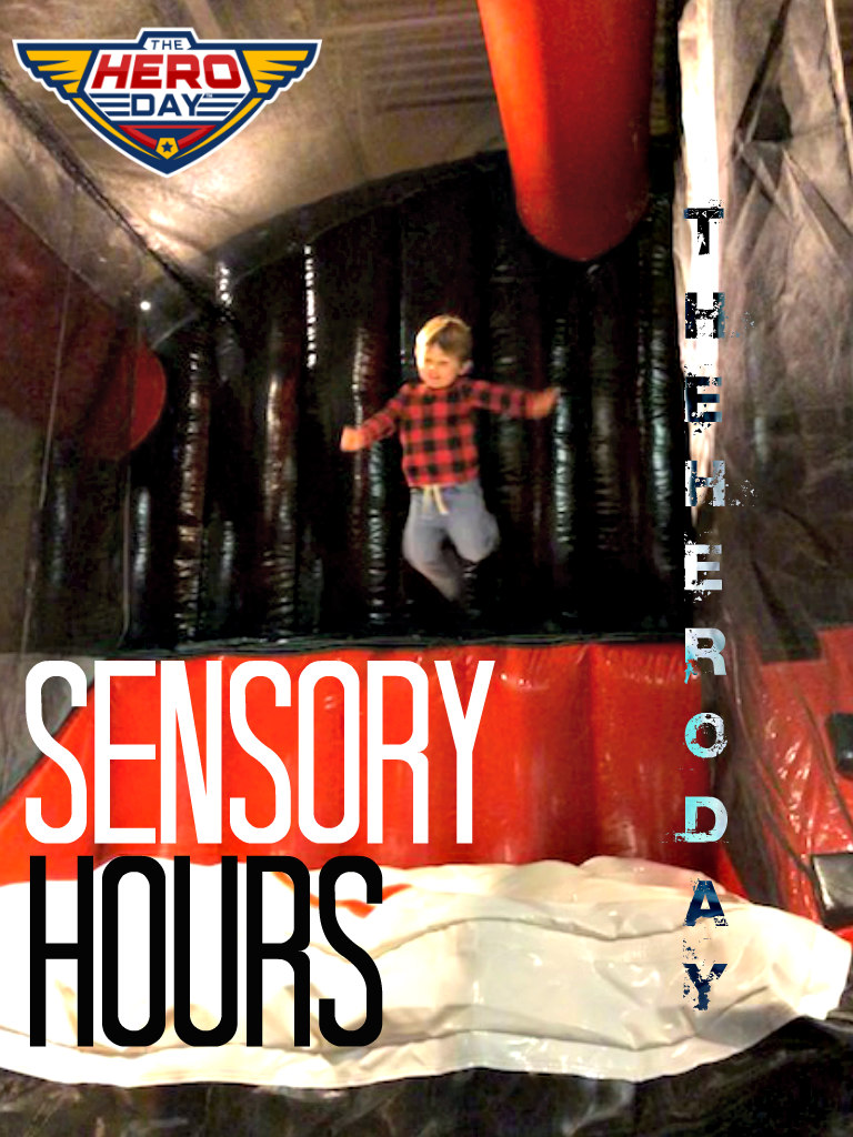 Join us the last Thursday of each month from 3-5 pm for special Sensory Hours.