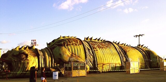 The Dinosaur Tour™ was converted into a haunted attraction for Fright Nights at the South Florida Fair 2010 & 2011.