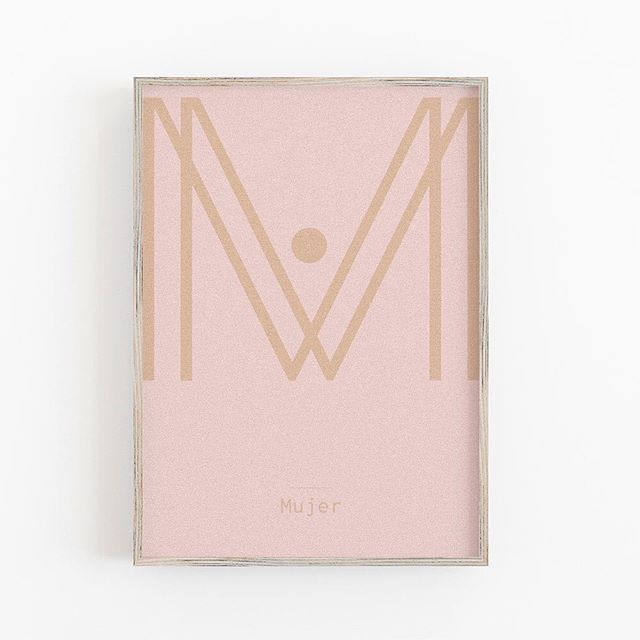 M for Mujer: Giclee print on 300gr Hahnemuhle German Etching paper is available size 40x30cm #minimondayslondon #artwork #print #bw #gicleeprint #letters #typography #kidsinterior #minimal #graphic #colors #nurserydecor #homedecor #geometric#mini #art #geometric #blackandwhite #graphpaper #custom #customname #letterb #highqualityprint #hahnemühle #smallbusiness #womanempowerment #womansday #diadelamujer #woman #femme #mujer
