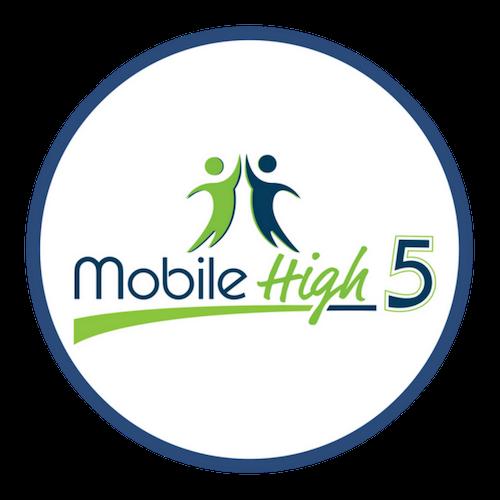 Mobile High 5 Mobile Marketing Logo Circle 500.png