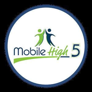 Mobile High 5 Mobile Marketing Logo Circle 300.png