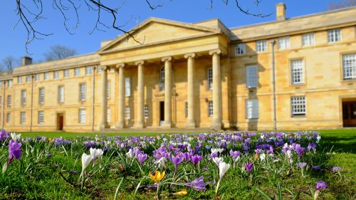 Downing College, Cambridge, UK