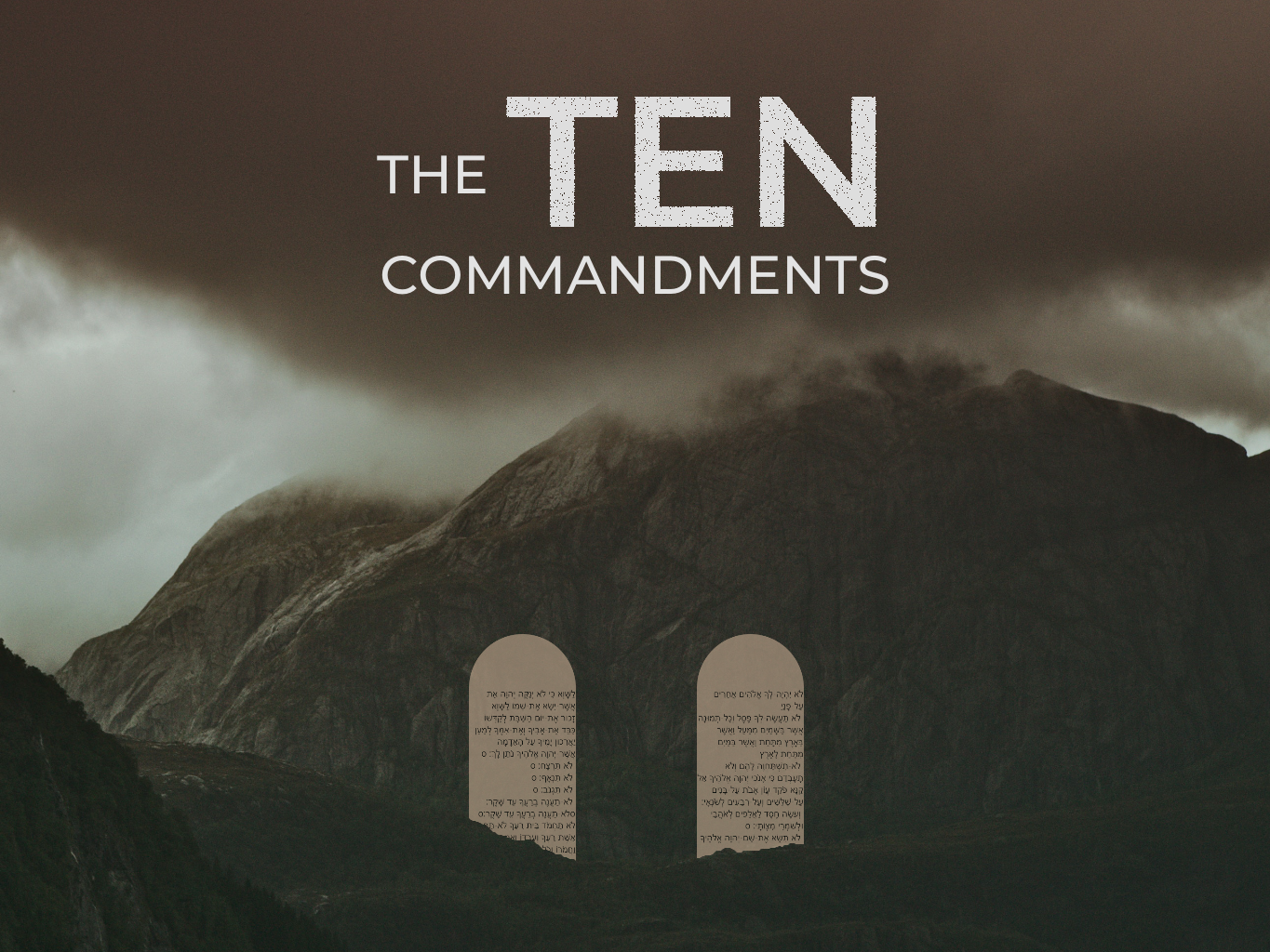 The Ten Commandments - Series Title.png