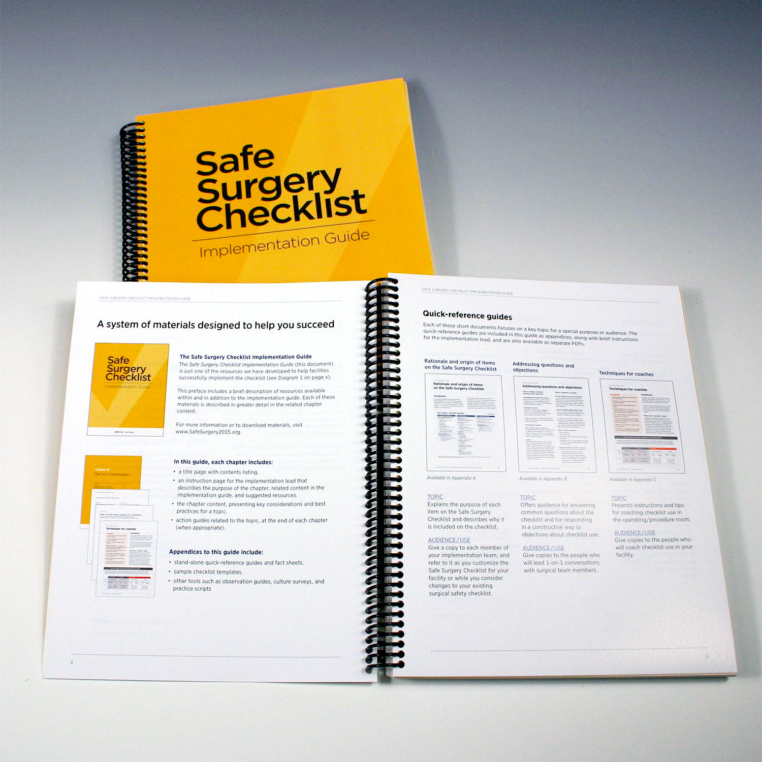 Safe Surgery Checklist Implementation Guide