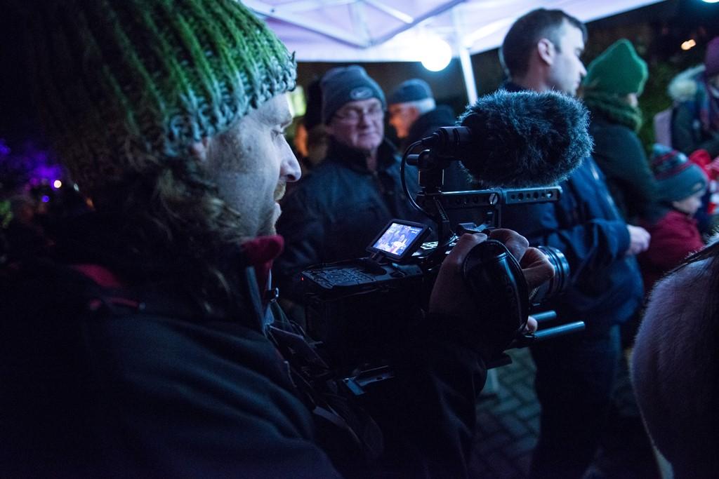 Filming Festival Of Light