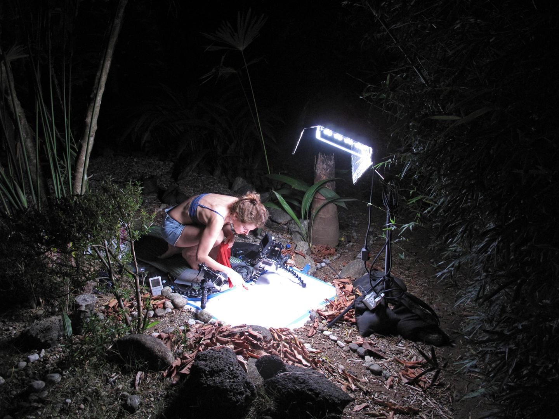 Filming WAR, Costa Rica
