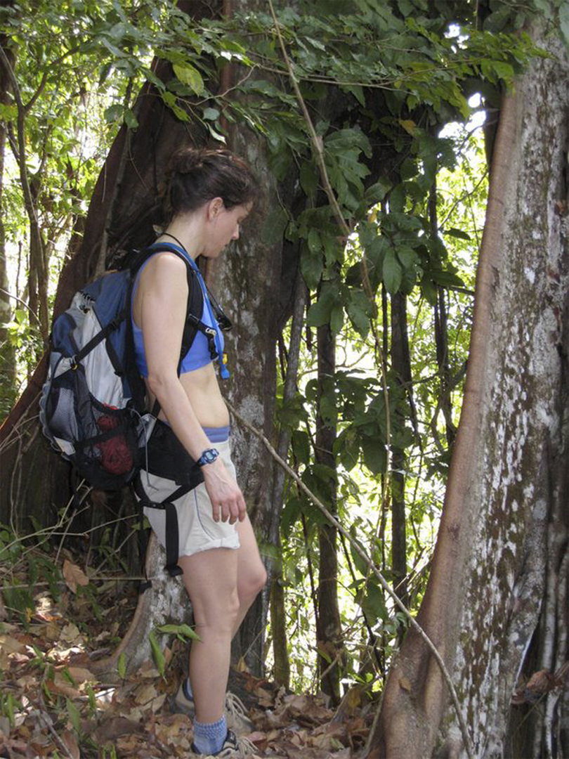 Looking for leafcutter ants, Panama