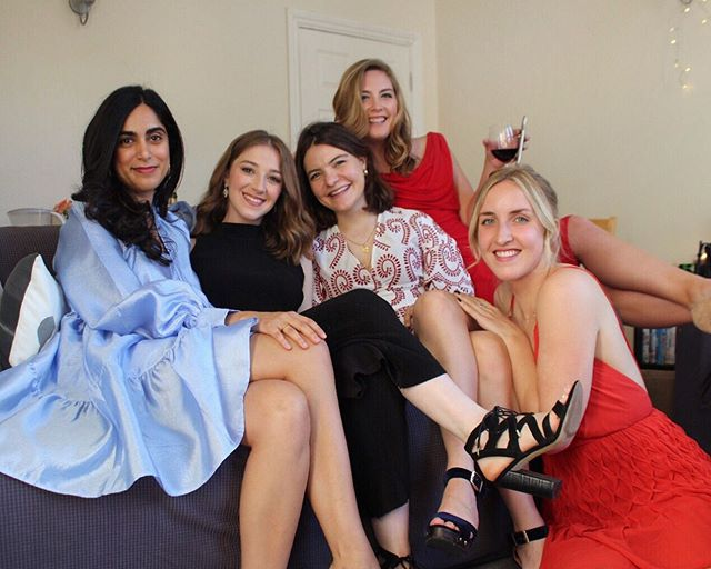The one where they ~actually~ dress up🍷 #imperialbiz
