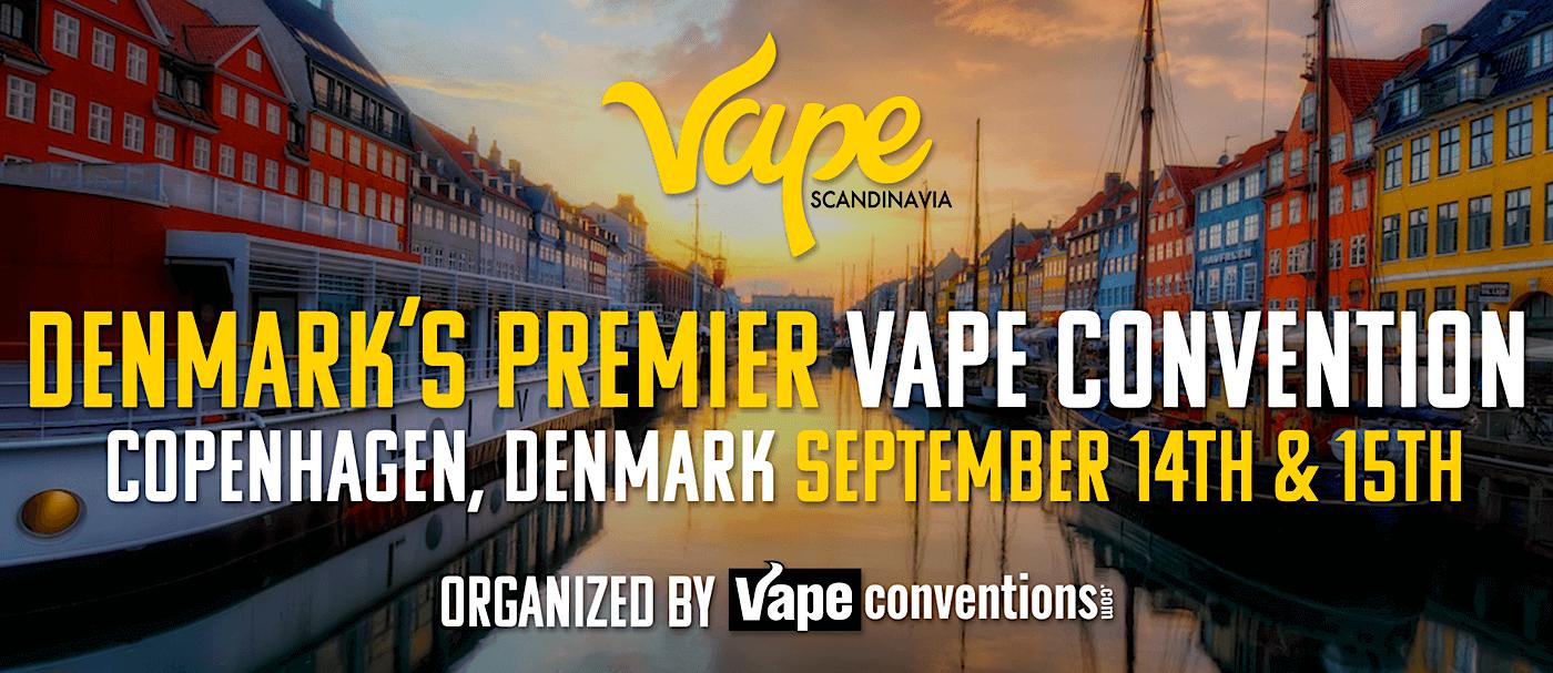 Vape Scandinavia Expo 2019 Banner - Copenhagen Denmark