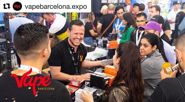 @vapebarcelona.expo ・・・ Diviértete y disfruta la @vapebarcelona.expo ✌️💨 . . Vape Barcelona Expo 2019 Descarga tu entrada es GRATIS 👆🏻💨 www.vapebarcelona.com Julio 6 y 7 : 2019 . . . #vapebarcelonaexpo2019