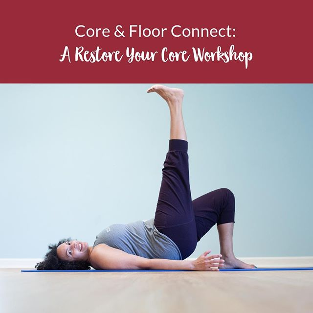 I have this awesome workshop coming up on September 29. It's in Thomasville, NC (near High Point), and it's going to be a full day of tuning into your body, learning all about your core & pelvic floor, and connecting with a bunch of other folks. Lunch is included in the price! Hit up the link in my bio (or just head over to www.larissaparson.com/workshops ) for more info!