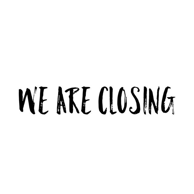 WE ARE CLOSING || Thank you to all my amazing brides and clients. After two years we are closing indefinitely to welcome a surprise baby to our family! 💕