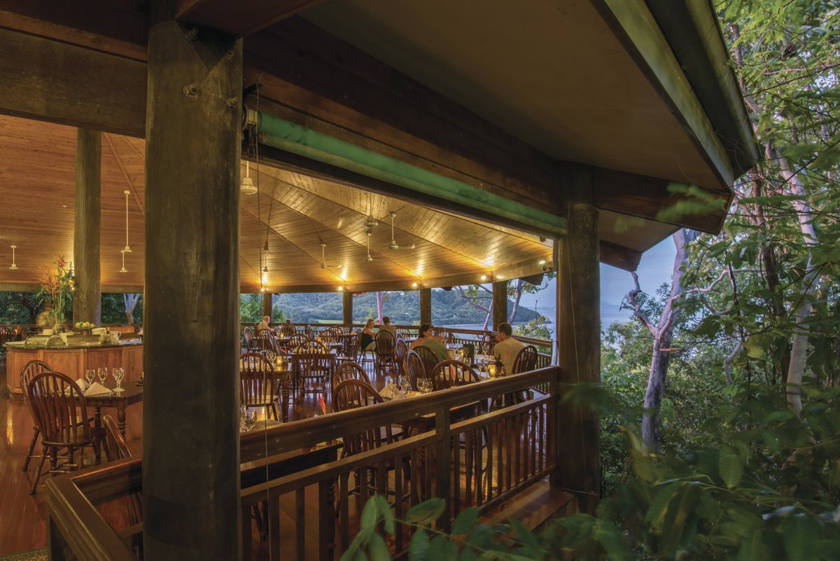 Thla Beach Nature Reserve, treehouse dining