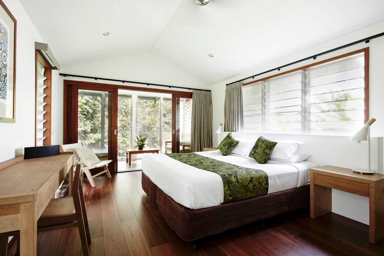 Daintree Ecolodge luxury bayan interior
