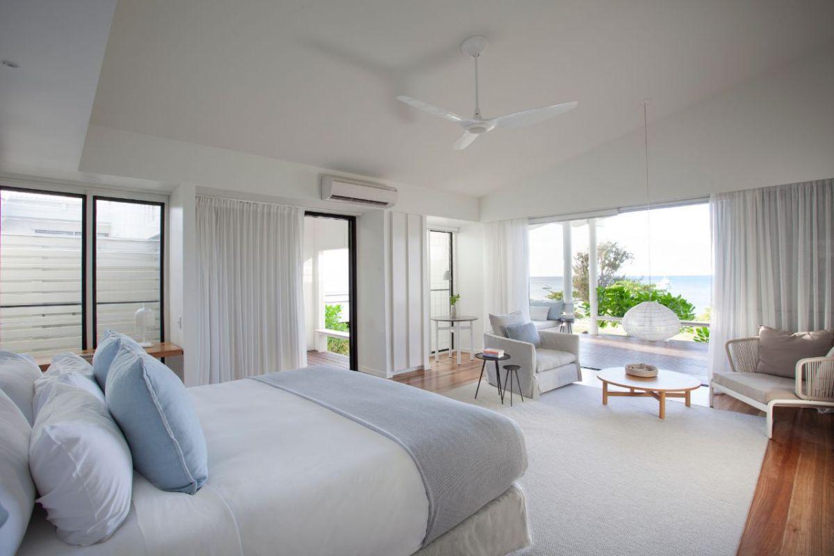 Lizard Island Resort Beachfront Suite interior