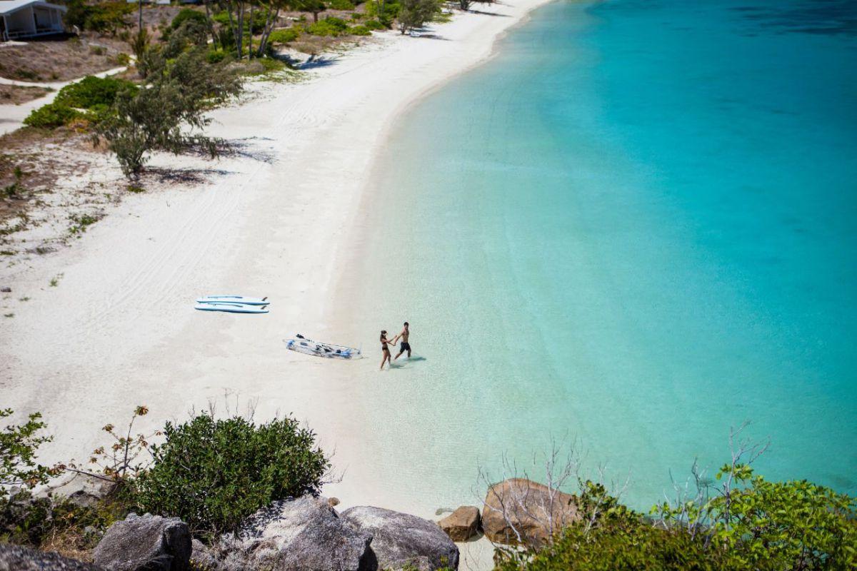 Lizard Island Resort beach stay