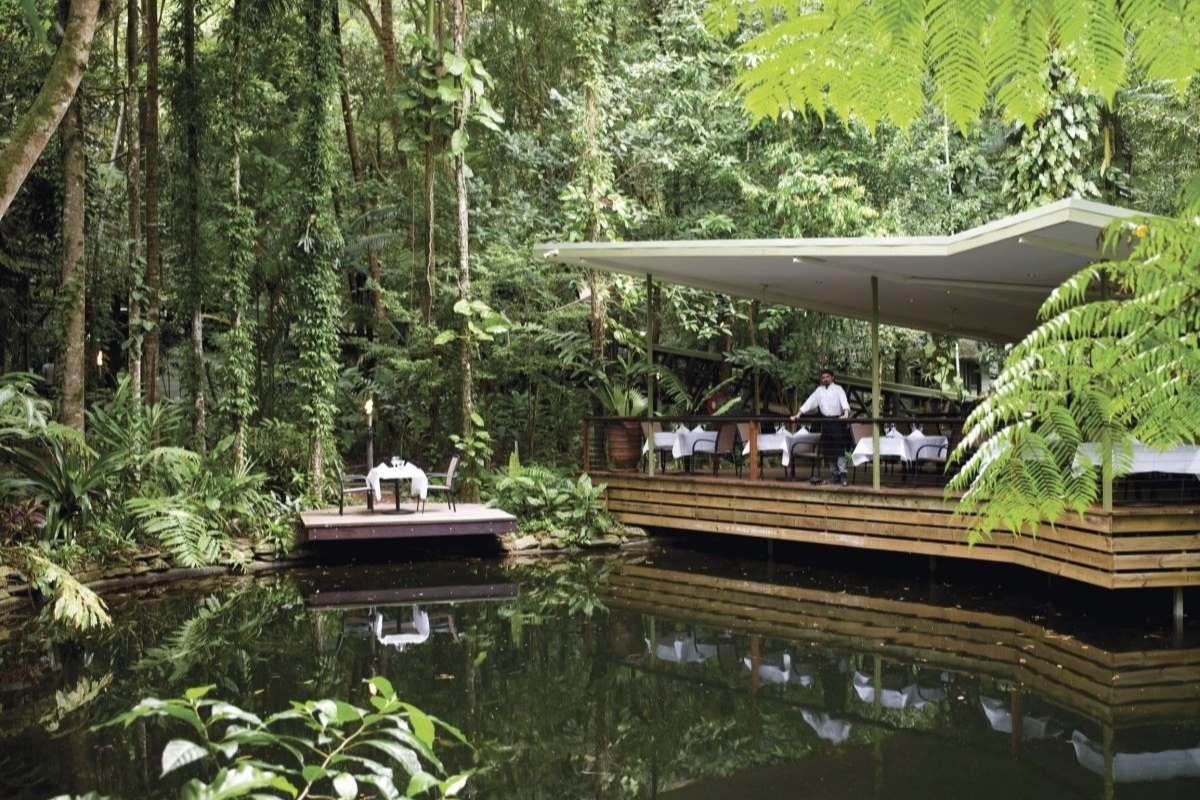 Daintree Ecolodge Julaymba Restaurant outdoor dining