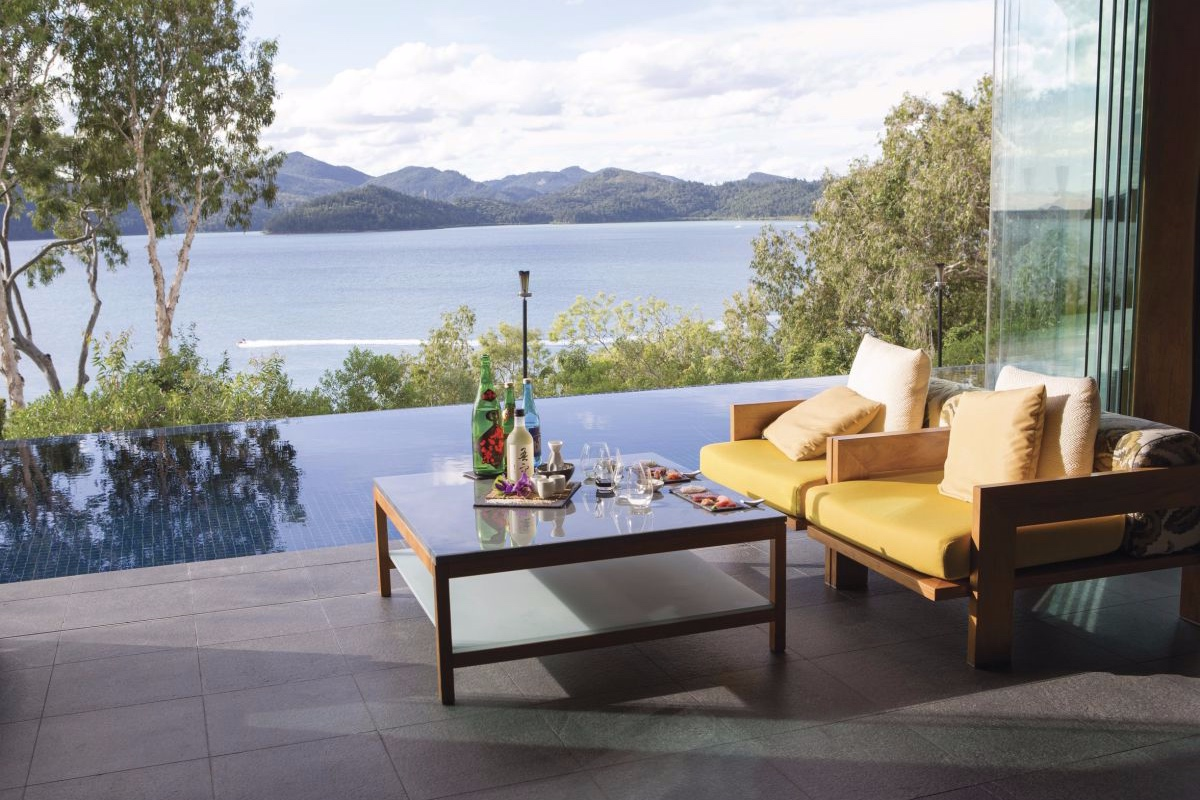 qualia resort Hamilton Island Great Barrier Reef