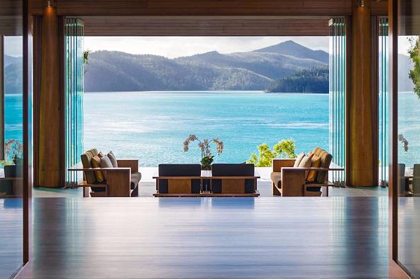 qualia resort Hamilton Island waterfront suite