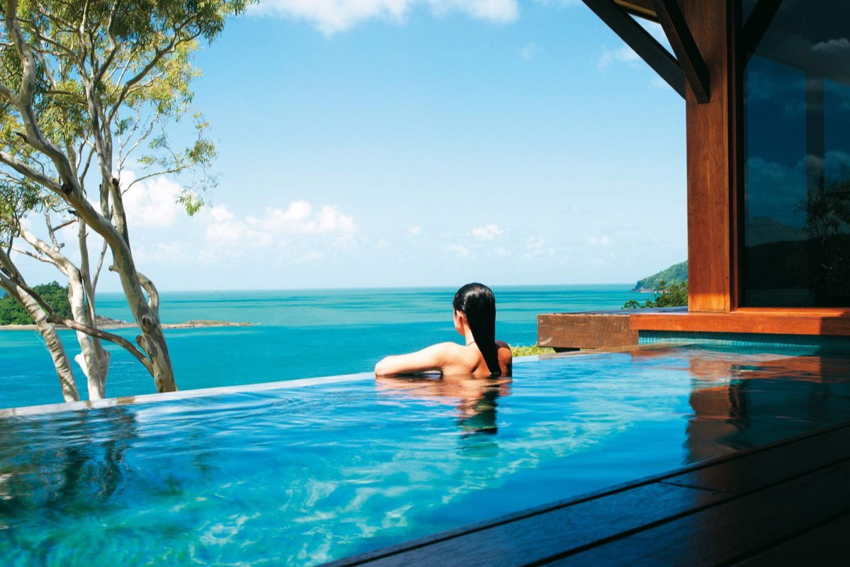 qualia resort Hamilton Island Windward Pavilion plunge pool