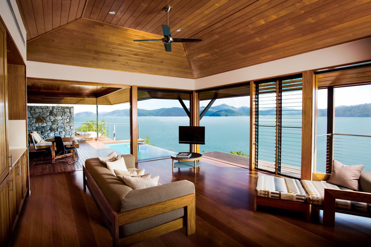 qualia resort Hamilton Island Windward Pavilion lounge