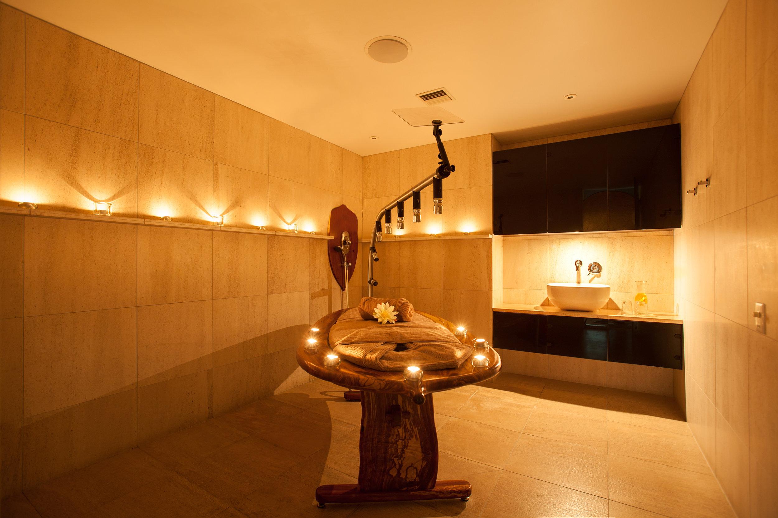 Vichy shower spa, Millbrook Resort