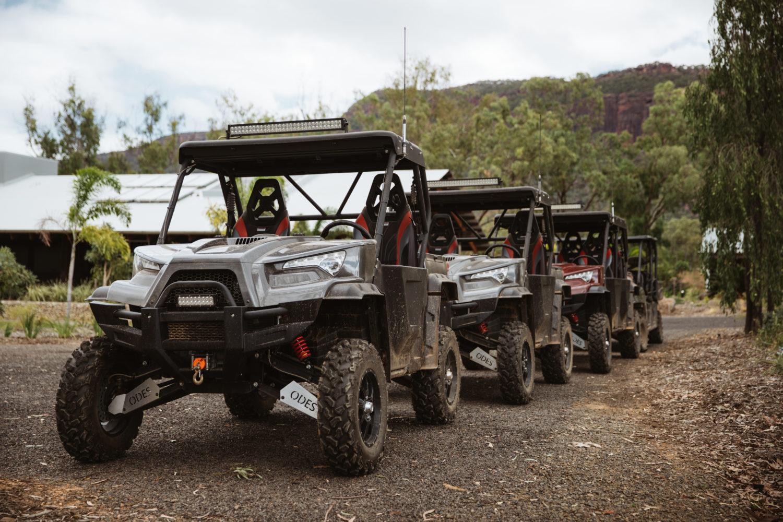 ATV fun at Mt Mulligan Lodge, northern Queensland