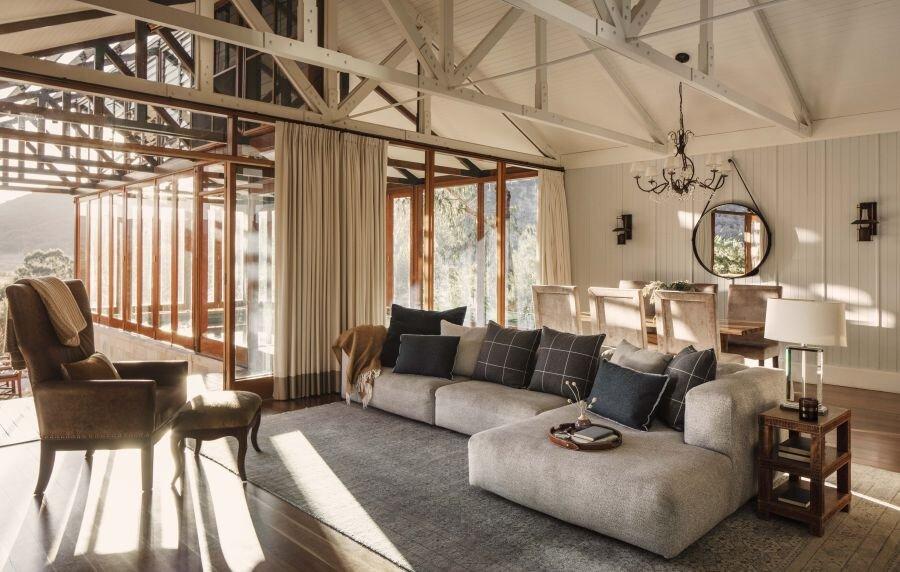 Wolgan Valley Villa Lounge