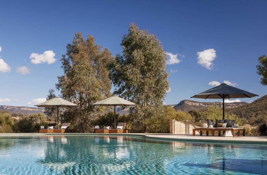 Wolgan Valley Resort Pool