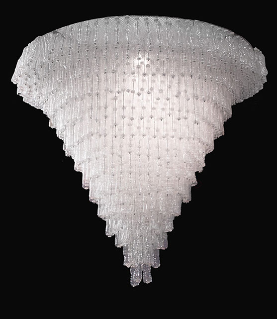 BLANK CONICAL CHANDELIER