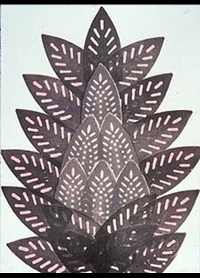 PRESSED IRON BUD ,30 X 22 INCHES  PUBLISHED BY TAMARIND INSTITUTE