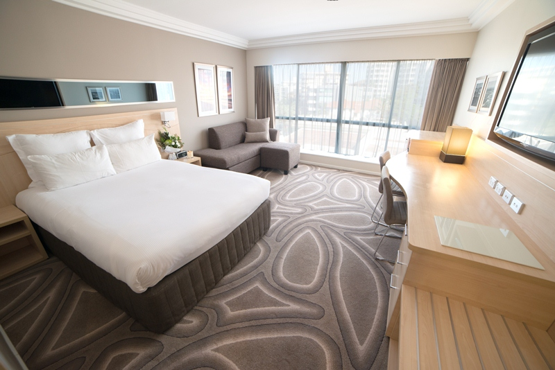 residential room$209.00 - Just as spacious, light and airy rooms as all rooms in the Novotel are