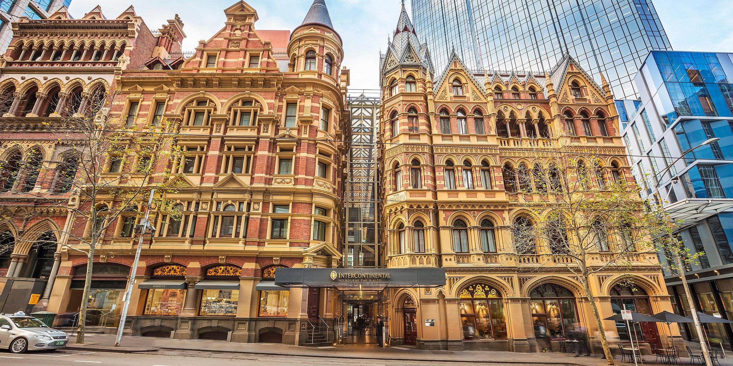 Intercontinental collins st -