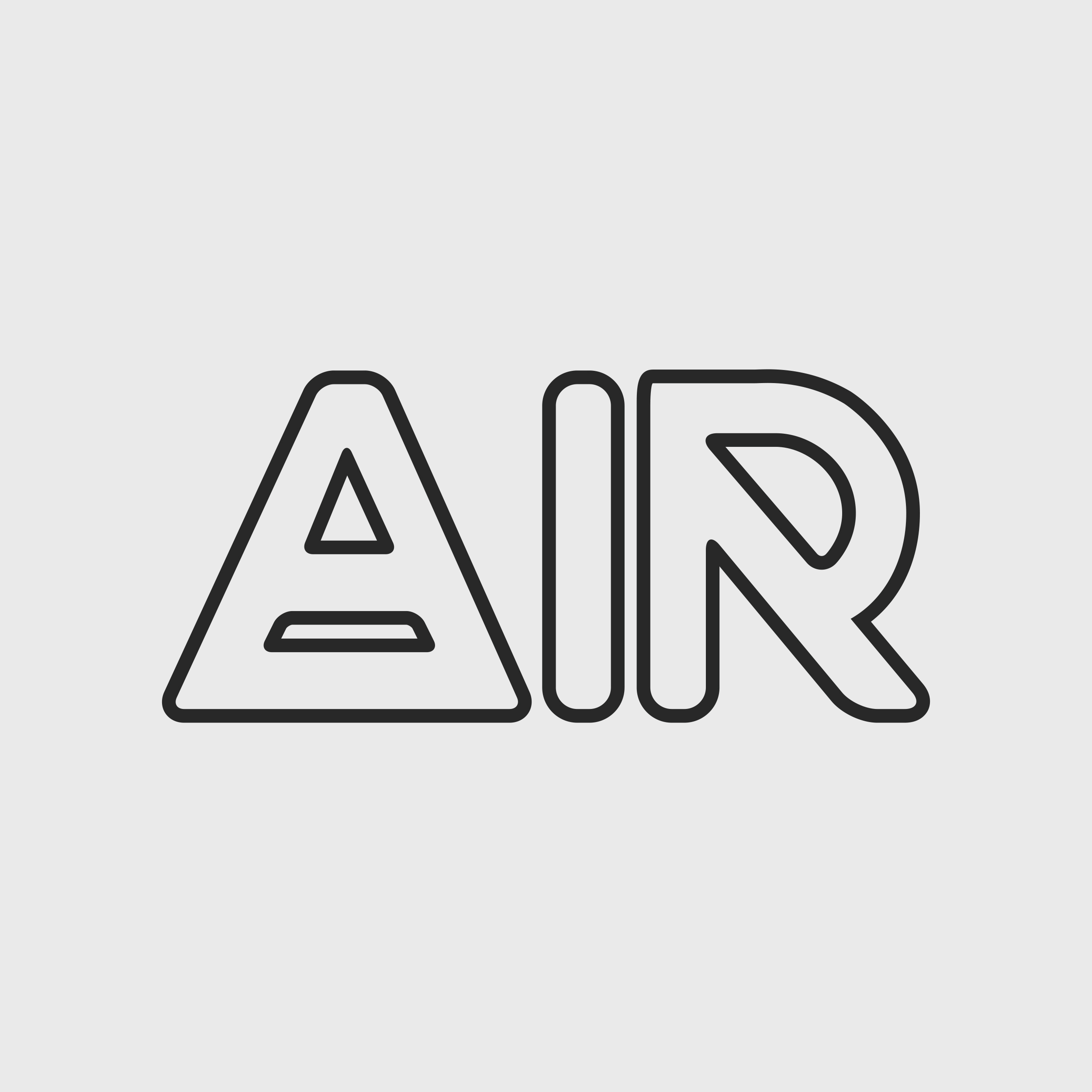 """A while back, a few designers at Nike were briefed to help out with a re-branding of """"Air Max"""" for Nike Performance Running. This mark was a part of my contribution to that project. My intention was to include the alchemical symbol for air. Also by outlining the type, the user gets the sense of lightness."""