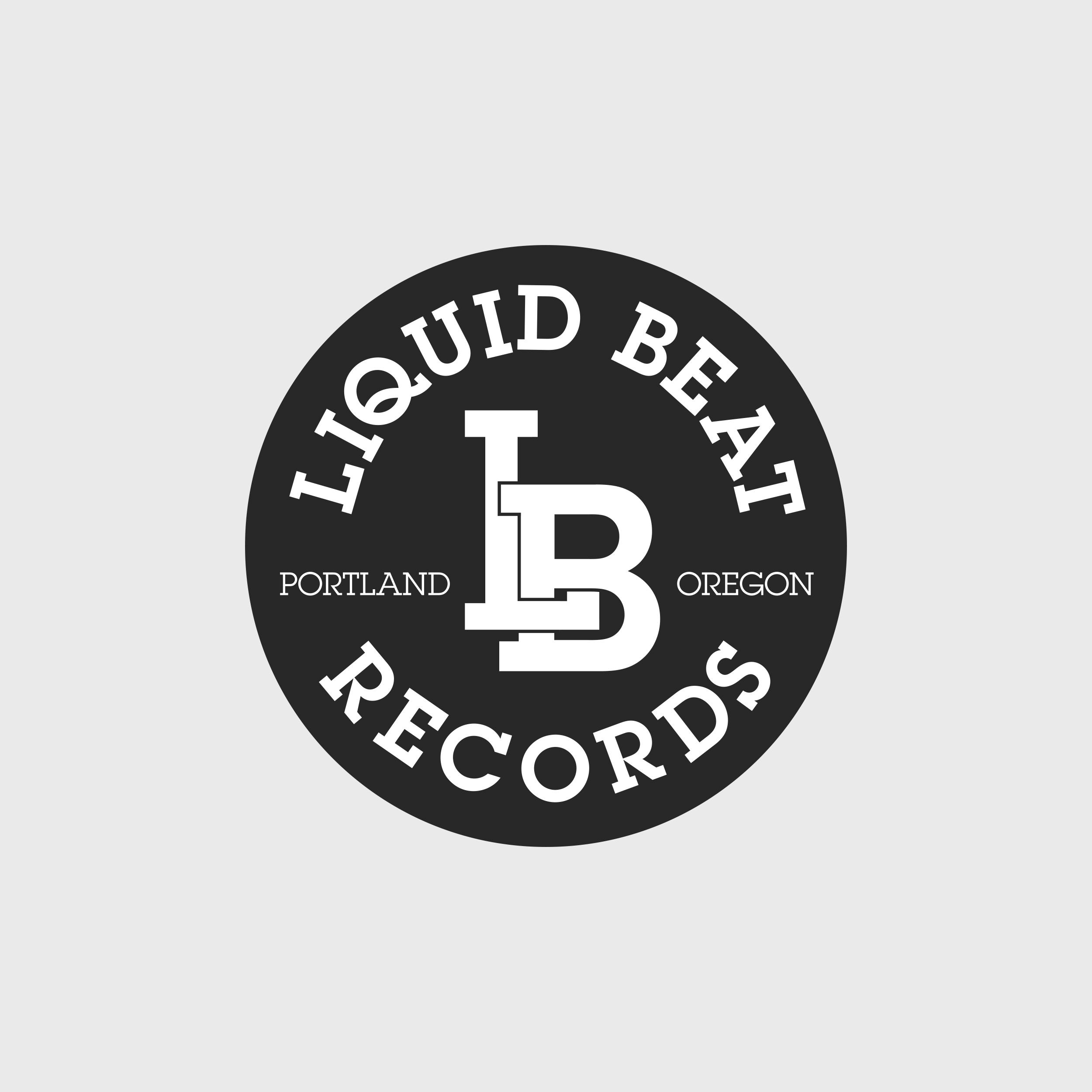 Label Logo & Branding.  https://liquidbeat.bandcamp.com