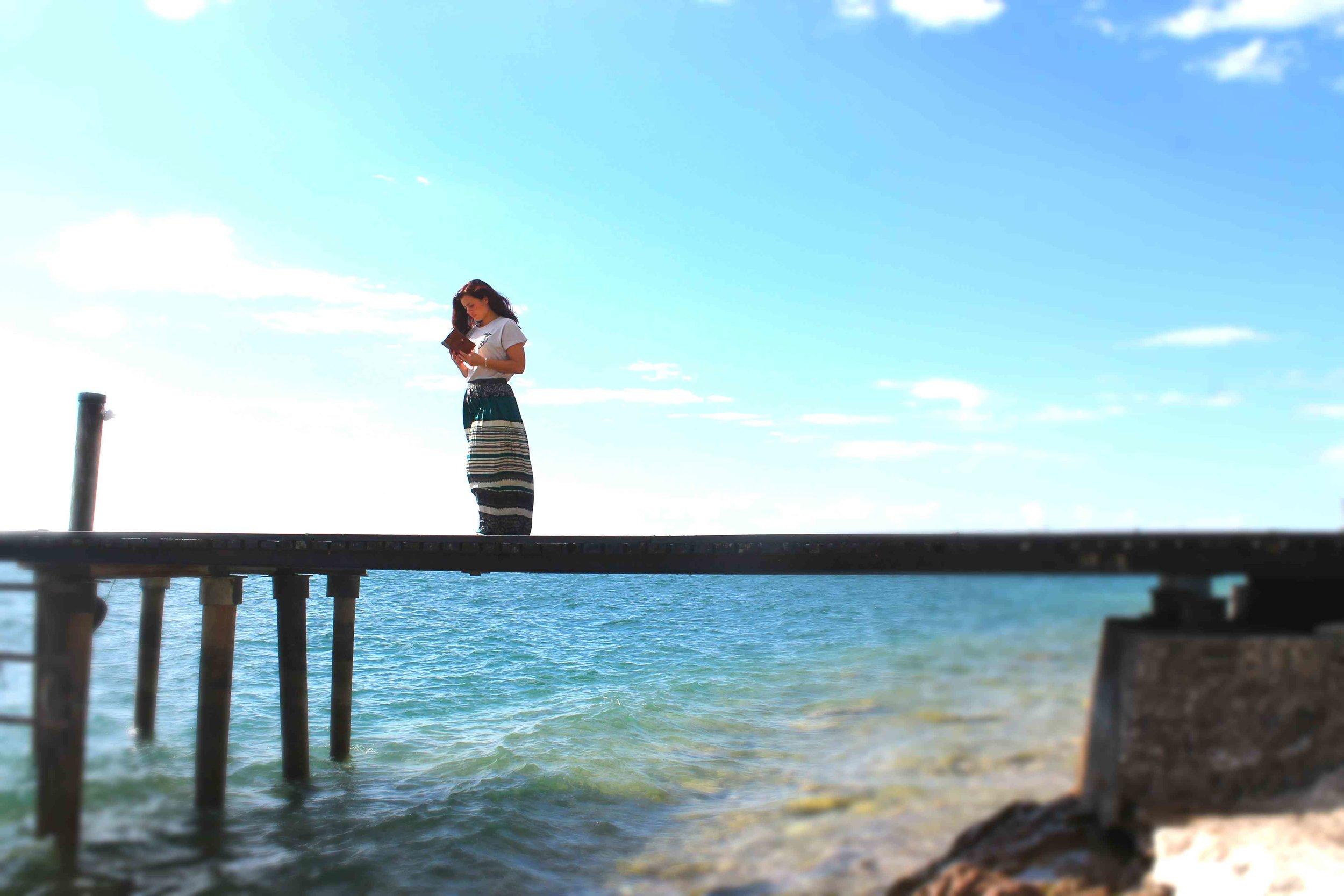 Summer 5 #statusquoio #cuoio #lake #notebook #wave.jpg