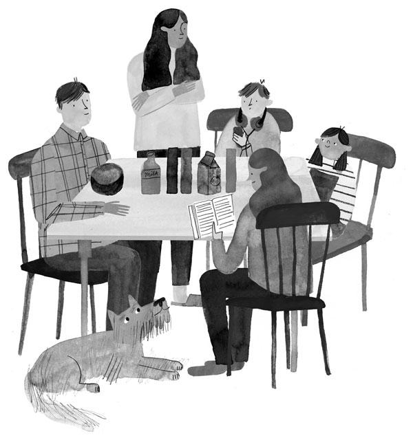 Meg-Rosoff---McTavish-Goes-Wild-page-12-dinner-table-sm.jpg
