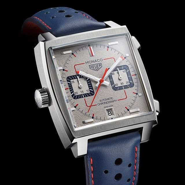 What a beauty - don't you think? Monaco limited edition 90s ble sluppet på et event i NY i natt. #169pieces #tagheuer #monaco #nortime #swissmade