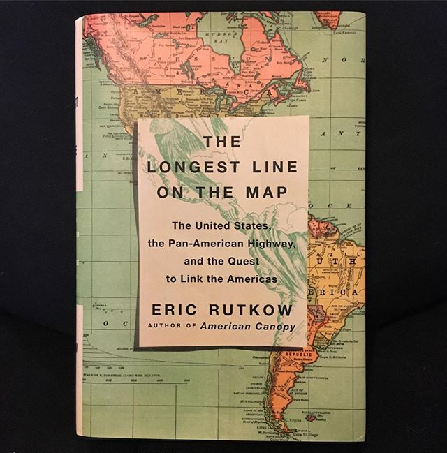 "I'm excited to announce the release tomorrow of my new book, The Longest Line on the Map: The United States, the Pan-American Highway, and the Quest to Link the Americas (@scribnerbooks). I've been working on this project since American Canopy came out seven years ago. The new book charts what is perhaps the largest untold story in US foreign relations history, covering 150 years and an entire hemisphere.  From the jacket: ""A dazzling account of the world's longest road, the Pan-American Highway, and the epic quest to link North and South America--a dramatic story of commerce, technology, politics, and the divergent fates of the Americas in the nineteenth and twentieth centuries."" #longestlineonthemap #panamericanhighway #overlanding #bookrelease #americanhistory"