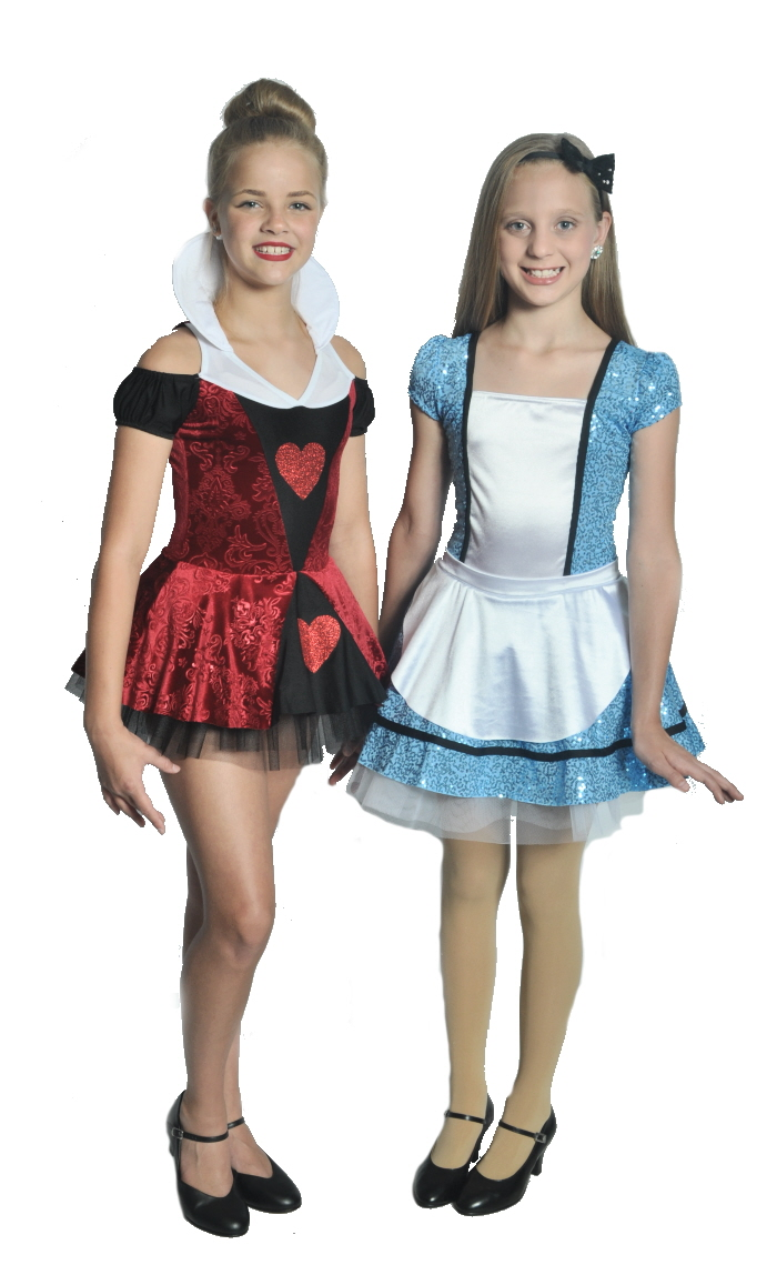 Queen of Hearts and Alice