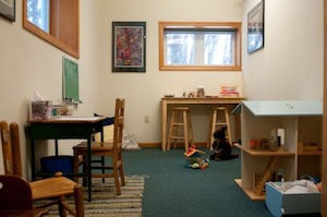 Child psychotherapy room