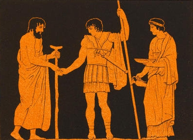 Ancient Greek family:  Family therapy helps the group cope with change