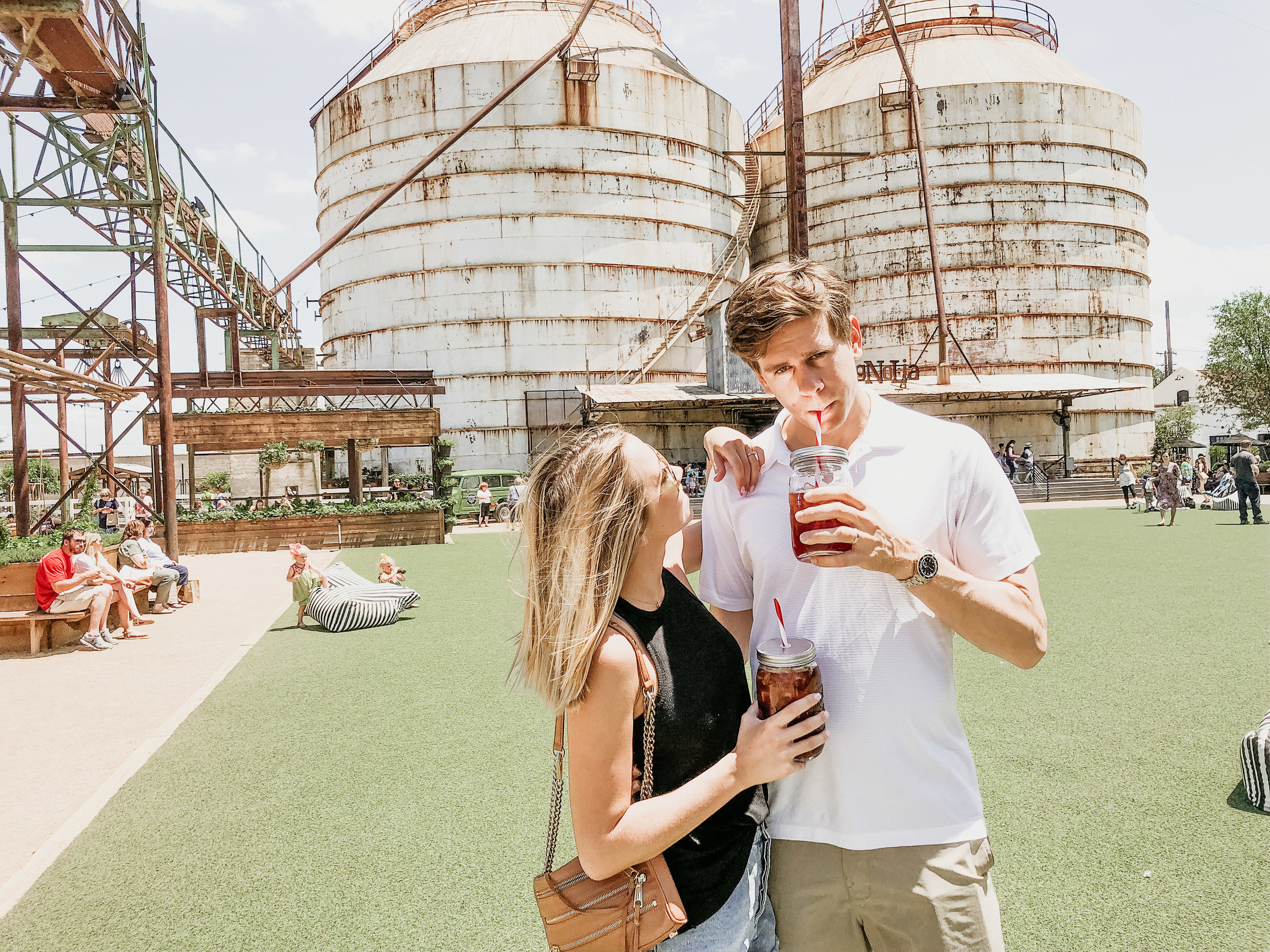 The Silos - food trucks, sun, and shopping