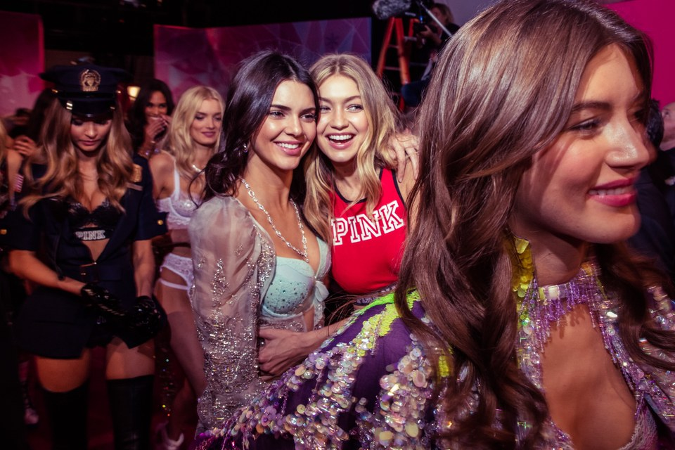 VanityFair.com |Nov. 2015 - Kendall Jenner and Gigi Hadid: How the New Class Ruled Backstage at the Victoria's Secret Fashion Show