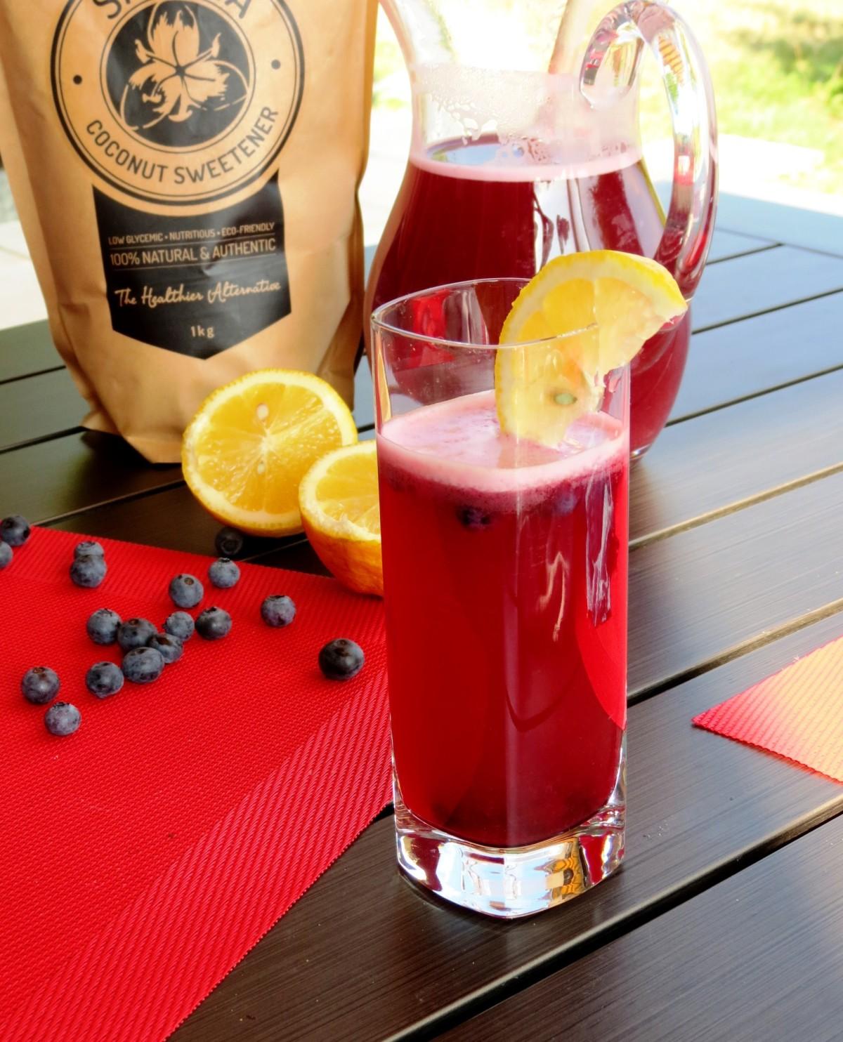 Blueberry Lemonade - Fruit Drinks