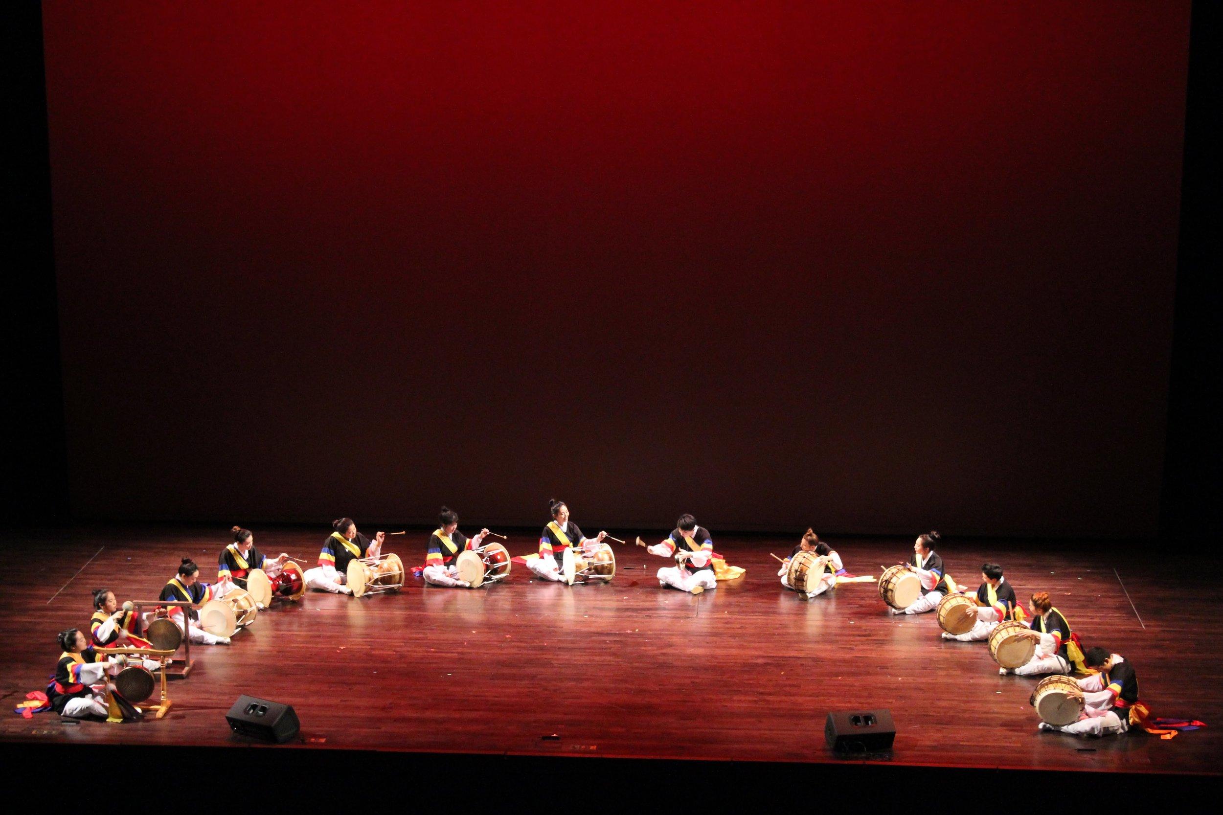Hanwoollim at the CulturalFest Performance Showcase 2018