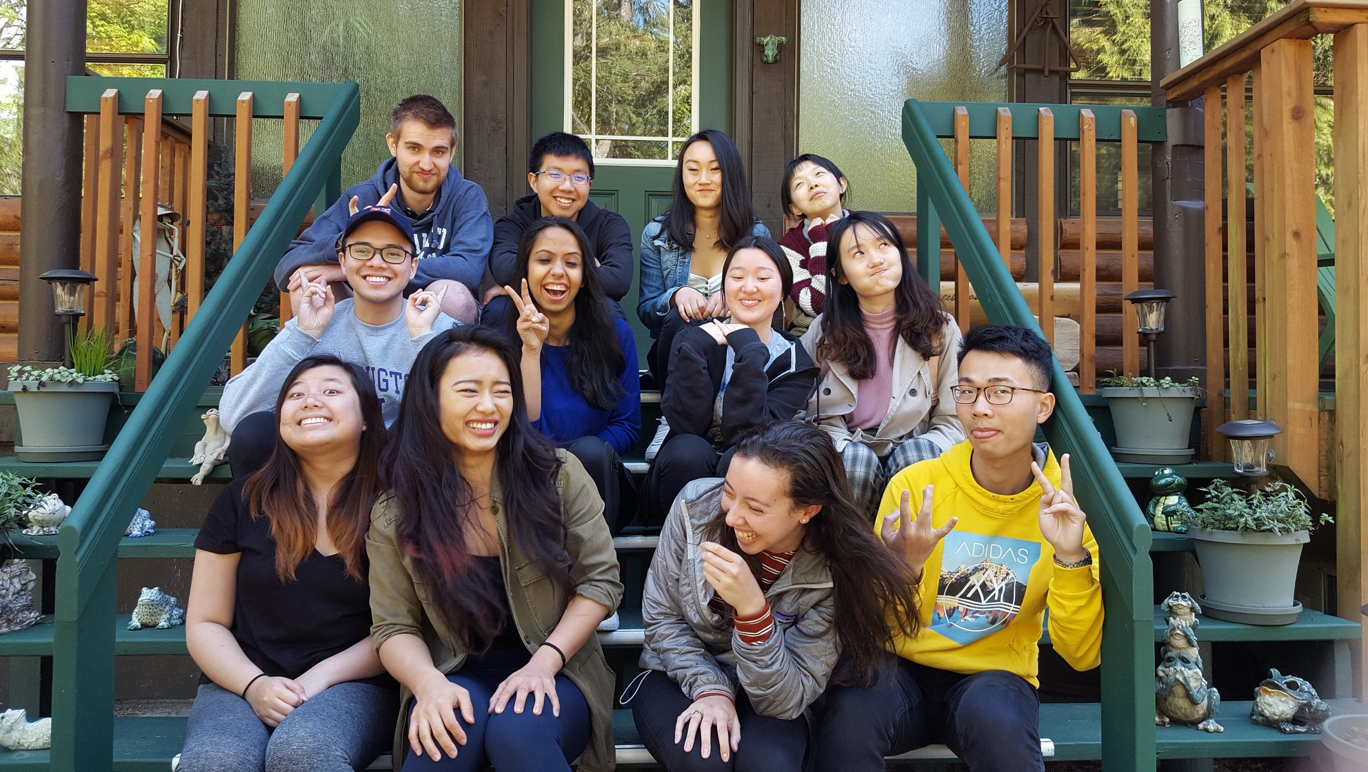 Maddie (front left) and the rest of the FIUTS 2018-2019 Student Board