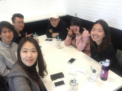 Team Bubble Tea outing